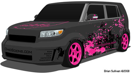 2008 Scion xB concept