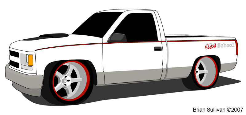 Pickup truck Illustrations and Clipart 2876 Pickup truck